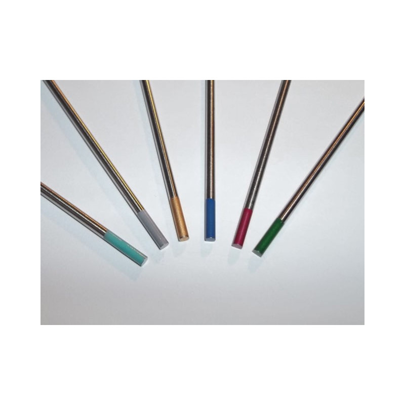 Wolframelektroden blau, grau, grün, gold, 1 Elektrode, 1,0-4,0 MM x 175mm - 400P010175x -  - 1,18€ -