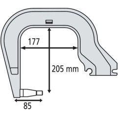 GYS Elektrodenbügel C3 - 8...