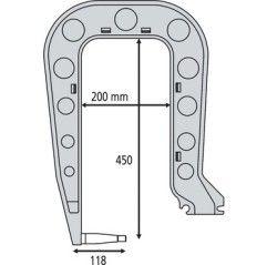 GYS Elektrodenbügel C4 - 8...