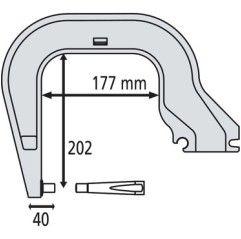 GYS Elektrodenbügel C8 - 8...