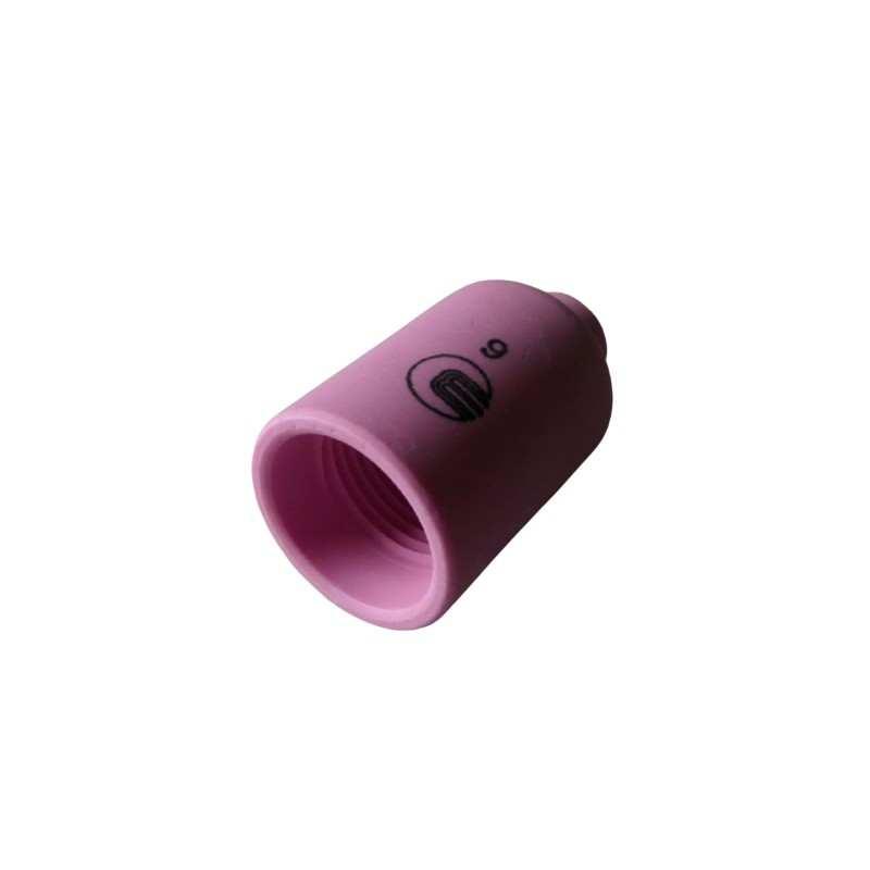 Keramische Gasdüse Gr. 6 - 42mm - Standard für Gaslinse - Typ 17 / 18 / 26 - 54N16 - Original Binzel - 701.0422 - 701.0422 - 403