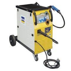 GYS CARMIG,15-200 A - 400 V - 3-ph.,Drahtführungsrolle - Ø 0,6/0,8 mm + EURO-Brenner 150 A - 3 m + Massekabel - 3 m - 1 - 315402