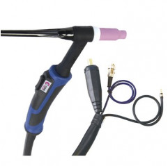GYS - ABTIG WIG-Brenner GRIP SR26 DB - luftgekühlt - 8 m Stecker 35 / 50 mm² - Steuerkontakt DIN 3-pol. - mit Zubehör-Set