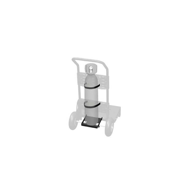 GYS Gasflasche-Auflage - 4 m³ - für Fahrwagen mit Rädern JOBSITE XL