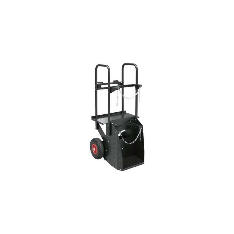 GYS Fahrwagen - 2 Räder - 10 m³ für alle WIG-Geräte (außer AC/DC 250 A)
