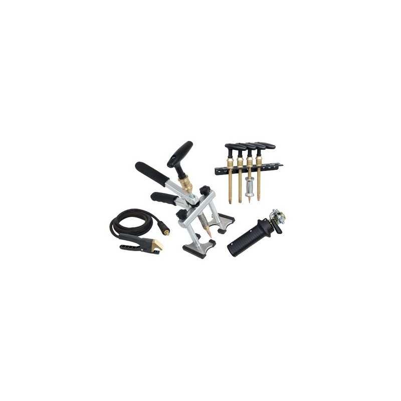 MANUSPOT (Ausbeulhandzange + 4 T-Griff-Werkzeuge + Easy Connection Pistole + Kontaktklemme 3 m) - 10 - 3154020050679 - - 050679