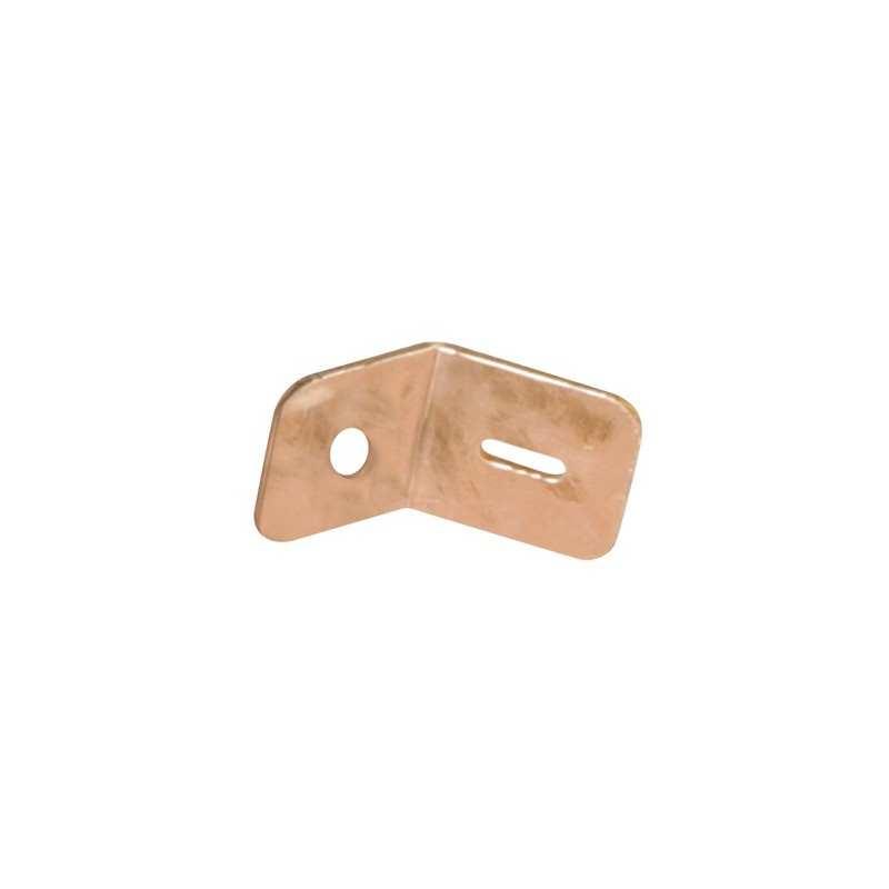 Kupfer-Masseschuh - für Punktschweißanlage / Ausbeulspotter - D. 3 mm