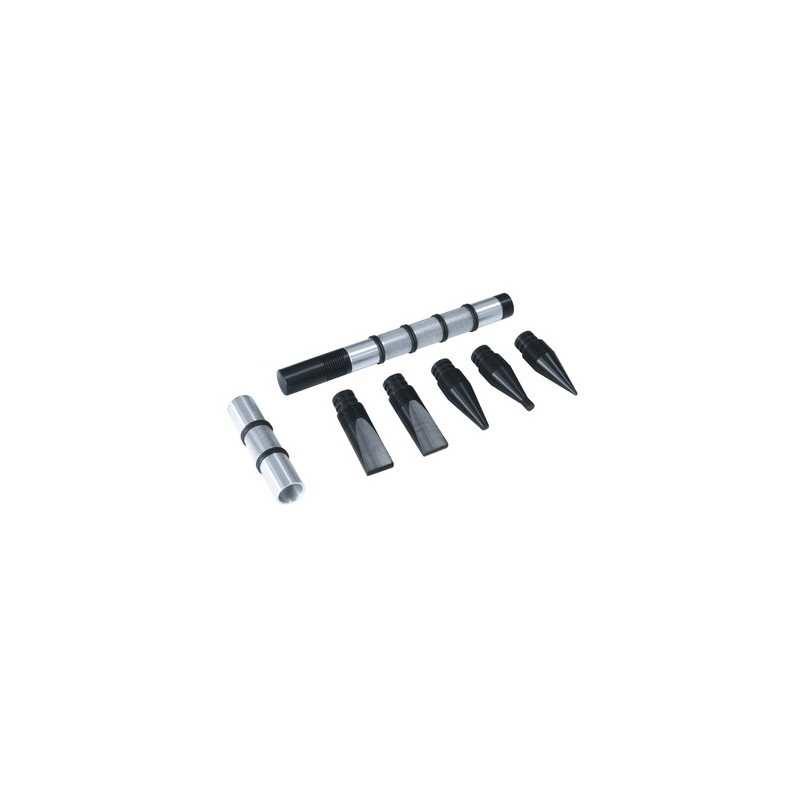 Beulenstemmer-Set - mit 6 Tefloneinsätzen - 052888 - 1 - 3154020052888 - - 052888 - 88,37€ -
