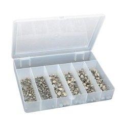 GYS Stanznieten Set Satz BOX 6 x 50 Stück (Ø 3,3 & 5,3mm) - 048706