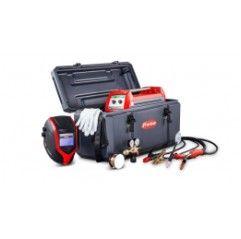 Transsteel 2200c Set/EF - Inverter MIG/MAG-WIG-Elektrodenschweissen mit Schweisshelm