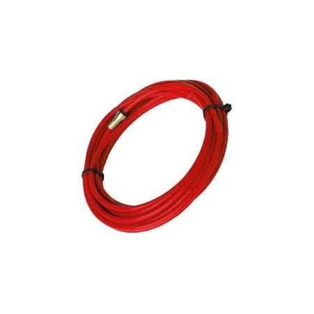 PTFE-TeflonSeele 2,0/4,0 -rot - Draht-Ø 0,8–1,2 - für 8,00 m - 126.0030 - 126.0030 - - 35,03€