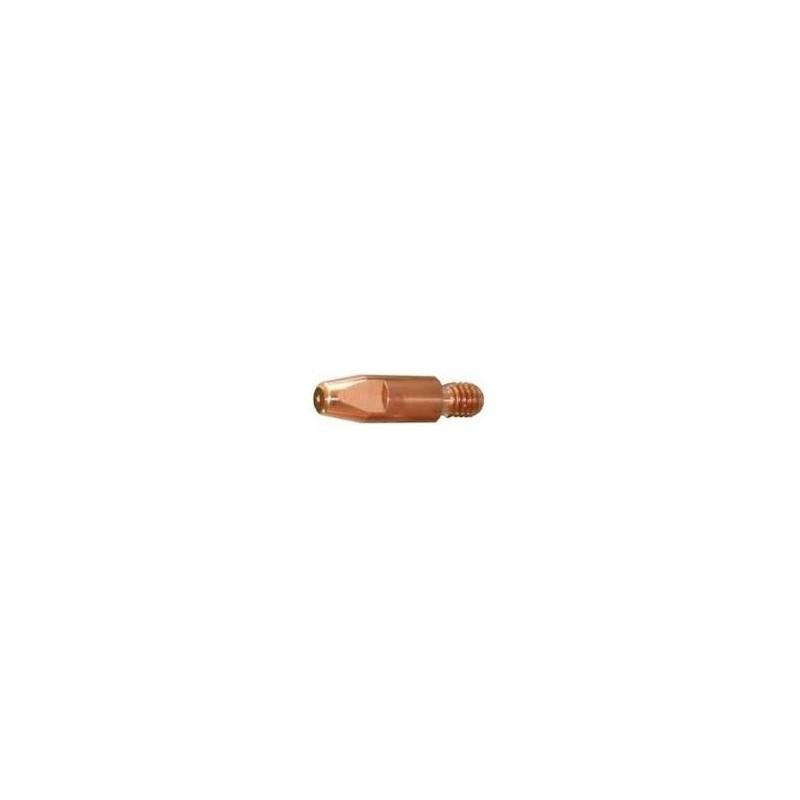 Stromdüse E-Cu M6 x 28, Ø 0,8mm, Abicor Binzel - 140.0051 - 140.0051-1 - 4365845786 - 0,90€ -