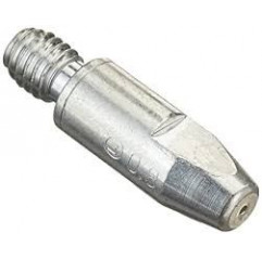 Stromdüse CuCrZr versilbert für Schweißbrenner, M8x30mm, Ø  0,8 mm,  (1 Stück) - 147.0117