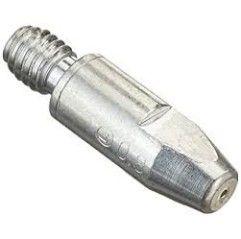 Abicor Binzel Stromdüse für Schweißbrenner, CuCrZr versilbert, M6x28mm, Ø 1,0 mm, (1 Stück) - 147.0245