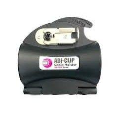 Gürtelclip zur bequemen Führung und Zugentlastung von luftgekühlten BIKOX®-Kabeln (Ø 14–25 mm).