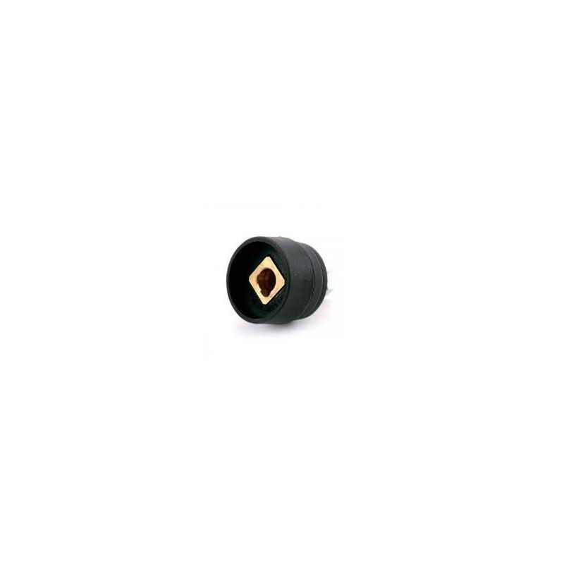 Schweißgeräte Einbaubuchse für Massestecker, Dorn 13mm, 70-95mm2 - 511.0309 - 4036584502919 - 7,56€ -