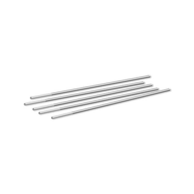 Wolframelektrode WZr 08, weiß, 1 Elektrode, 1,0-4,0x175mm - Abicor Binzel