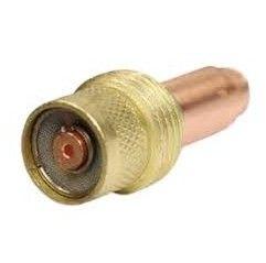 Spannhülsengehäuse mit Gaslinse Standard. 4,0mm -17 / 18 / 26 - 45V28 - Original Binzel - 701.0211
