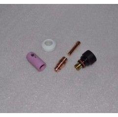 WIG Umbau Set Standard Typ 17/18/26 auf Typ 9/20 kurz Stubby - 2,4mm, Gasdüse nach Wahl