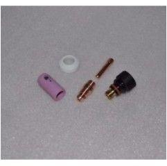 WIG Umbau Set Standard Typ 17/18/26 auf Typ 9/20 kurz Stubby - 3,2mm, Gasdüse nach Wahl