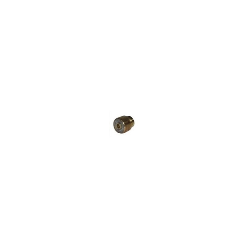 Spannhülsengehäuse mit Gaslinse 2,4mm Standard Abitig Grip 12-1