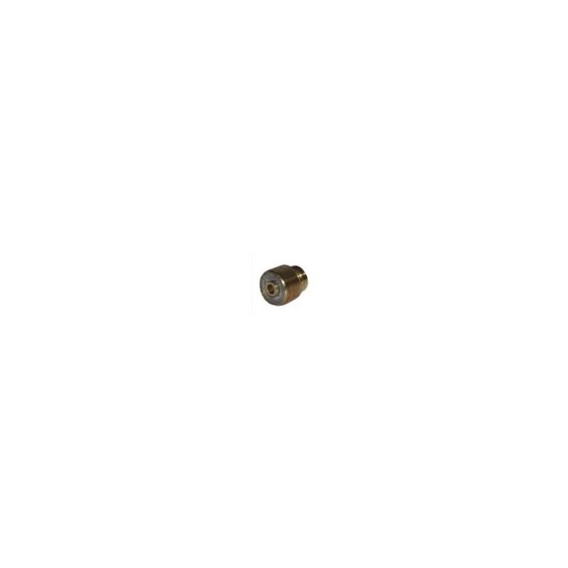 Spannhülsengehäuse mit Gaslinse 4,0mm Standard Abitig Grip 12-1
