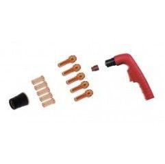 Trafimet Ergocut CB 70 - 1 Swirl-Ring, 1 Diffusor lang, 5 Elektroden lang, 5 Schneiddüsen lang 1,2mm, 1 Aussenschutzdüse