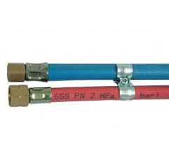GCE RHÖNA Gasschlauch montiert Sauerstoff/Acetylen, 6,3x5,0