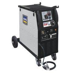 M1 GYS AUTO DV - 15-160 A, 230 V 1-ph.,Drahtführungsrolle - Ø 0,6/0,8 mm + EURO-Brenner 150 A - 3 m + Massekabel - 3 m
