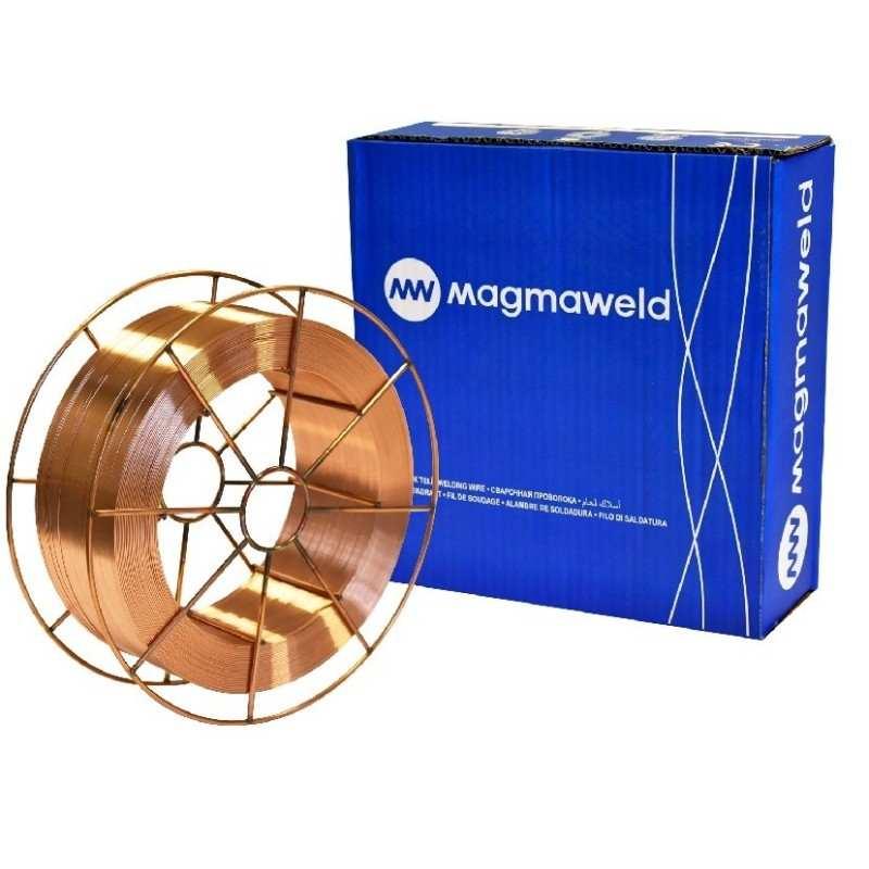 Schweißdraht Ø 0,8mm, 15kg, G3Si1 SG2, Schutzgas TÜV&DB - Magmaweld