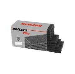 ROLLER'S Vlies, 10er-Pack, metallfreies, hochflexibles Reinigungsvlies für Kupferrohre, Lötfittings u. a. - 160300 A