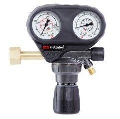 GCE Flaschendruckminderer Druckminderer 300 bar Procontrol - Argon, Sauerstoff, Acetylen, Stickstoff etc.