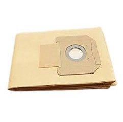 Roller - Papierfilterbeutel, 5er-Pack, Zellulose, 2-lagig, zum trockensaugen, M-zertifiziert - 185510 A05