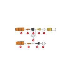 Fronius Düsenstock M6 / SW8x28 für MTG 250i / MTB 250i G ML / MTW 250i / MTW 250i W ML (1 Stück)