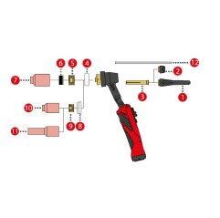 Spannhülse 4,8mm/ø11,5x56 für TTB260A / TTB500A /TTW5000A / TTW5500P (Abb. Pos. 3)