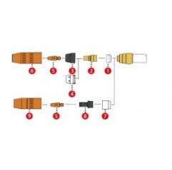Düsenstock M6 / SW10x28,5 CU MTB 250i (1 Stück) 42,0001,3999,5