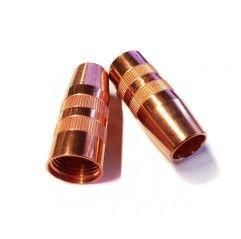 Gasdüse zylindrisch ø21,1 / ø25x63 CT M23x2, MTG 320i / MTB 320i G ML / MTB 320i - (1 Stück) 42,0001,4054,5