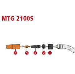 SET MTG 2100S Aluminium, Fronius Transsteel 2200