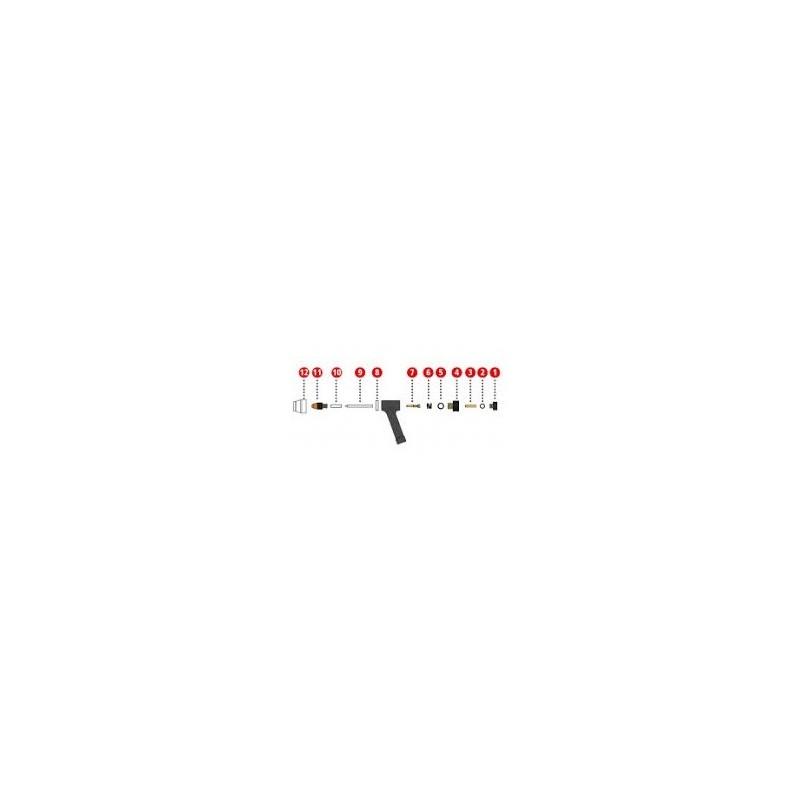 Dichtung 4x1mm FKM Dichtung für Plasmabrenner PWT 500 - Fronius (1 Stück) - 42,0300,2796 - 42,0300,2796 - 9007946837104 - 0,62€