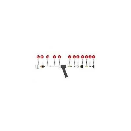 Wolframelektrode 1,0 mm für Plasmabrenner PWT 500 - Fronius (1 Stück) - 42,0411,4023