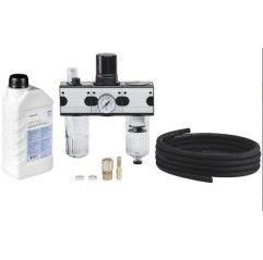 Pferd Anschlusssets / Anschlussarmatur für Druckluftgeräte (8mm) - 80803020