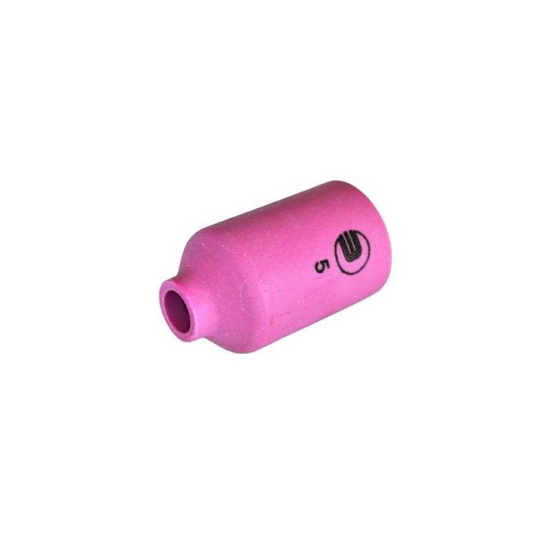 Keramische Gasdüse Gr. 5 - 42mm - Standard für Gaslinse - Typ 17 / 18 / 26 - 54N17 - Original Binzel - 701.0421 - 701.0421 - 403