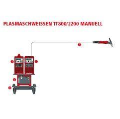 Fronius Micro-Plasmaschweißen mit TT800 Stromquelle