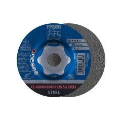 SCHRUPPSCHEIBE CC-GRIND-SOLID 125 SG STEEL