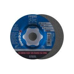 SCHRUPPSCHEIBE CC-GRIND-FLEX 125 COARSE SG STEEL