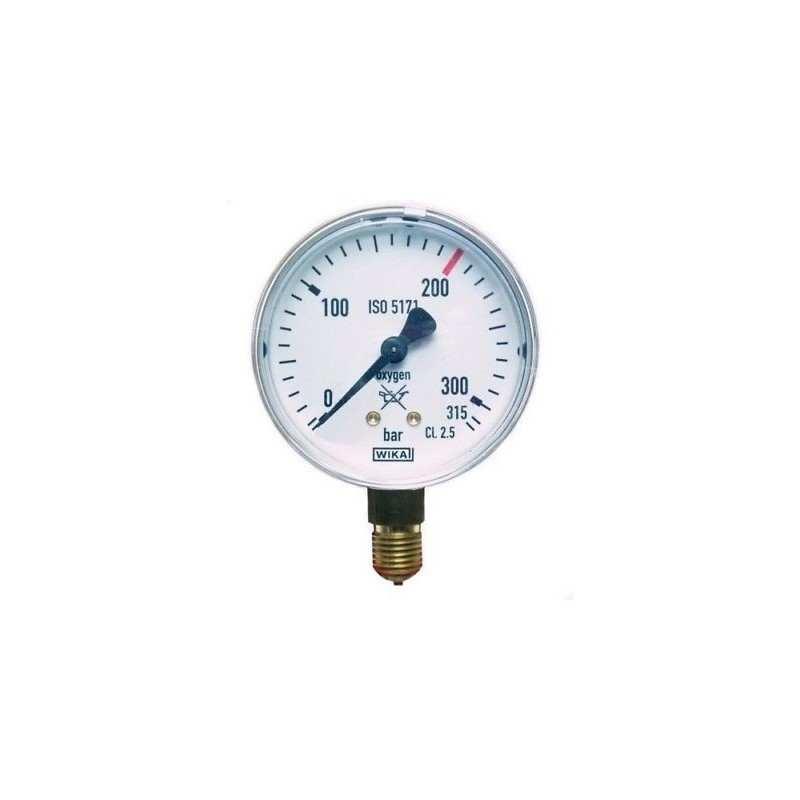 GCE Manometer Sauerstoff Inhaltsdruck bis 200 bar 9415070 Manometer