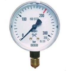 GCE Manometer Argon/CO2 Durchfluss bis 30 l/min 85220 Manometer