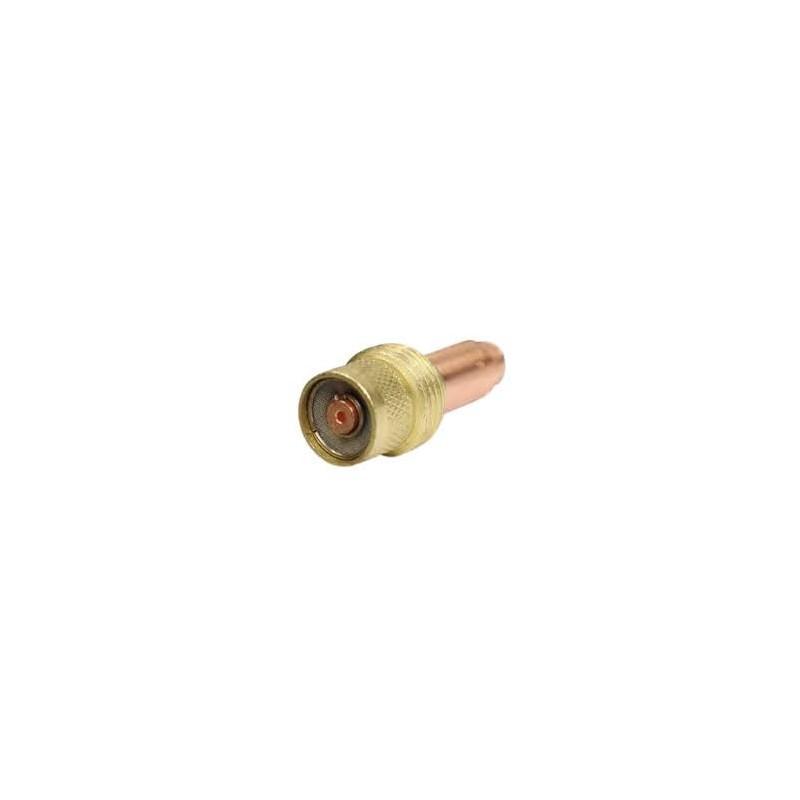 Spannhülsengehäuse mit Gaslinse Standard. 0,5-1,6mm -17/18/26 - 45V24 - Original Binzel - 701.0201 - 701.0201 - 4036584083623 -