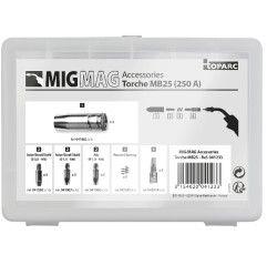 GYS Zubehörset MB25 für MIG-Brenner - 250 A - 041233