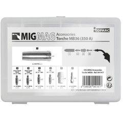 GYS Zubehörset MB36 für MIG-Brenner - 350 A - 041417